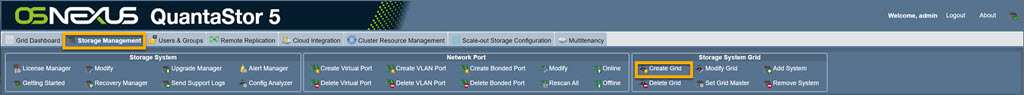 Storage Management Create Grid Toolbar 5.5.jpg
