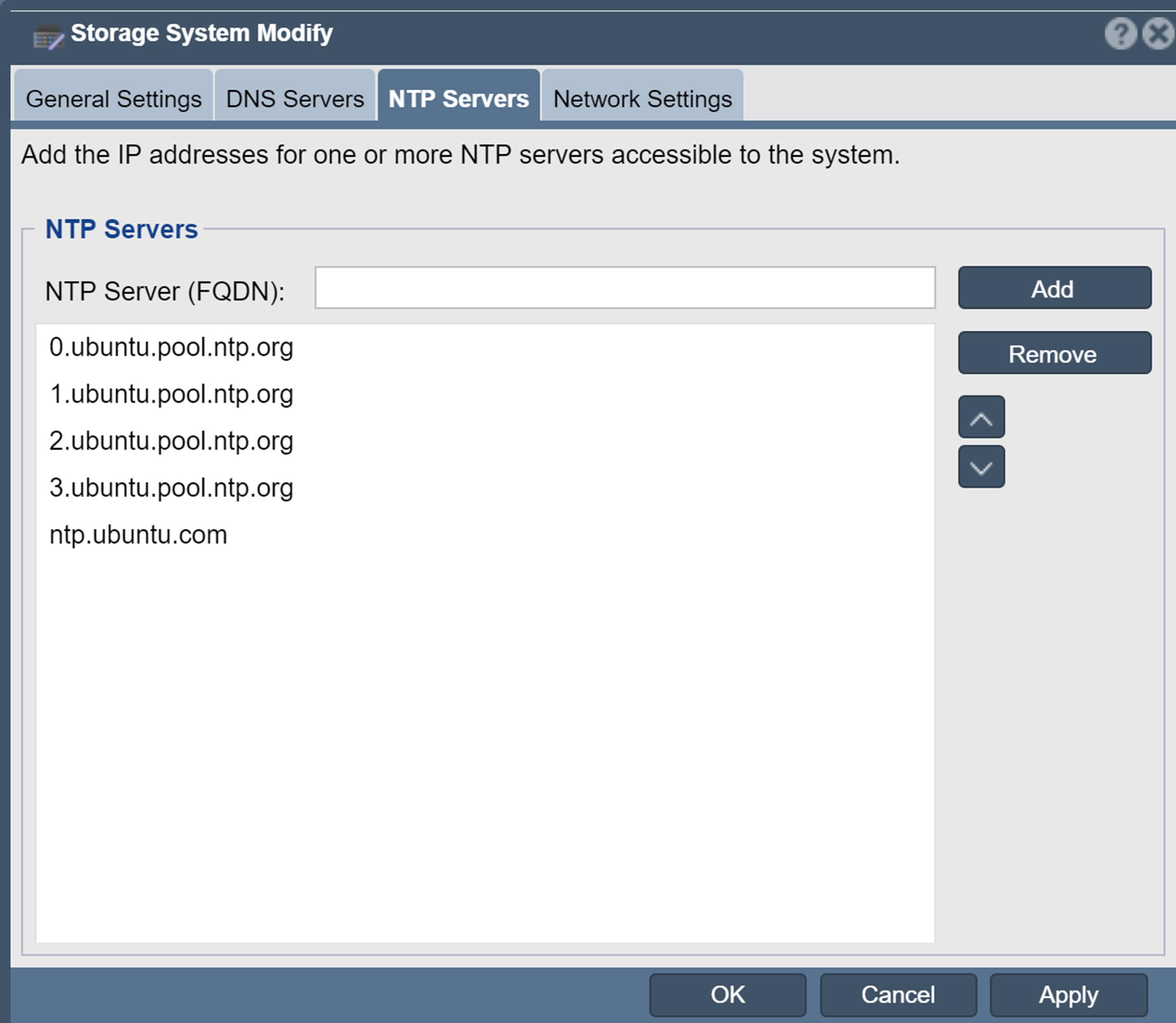 File:Modify Grid Network Settings NTP Servers jpg - OSNEXUS