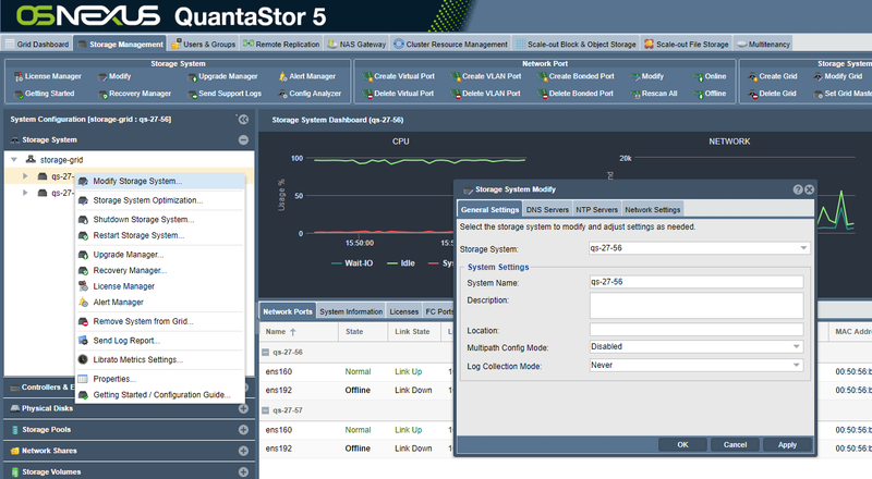 QuantaStor Administrators Guide - OSNEXUS Wiki