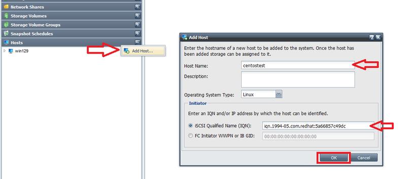 ISCSI Initiator Setup - OSNEXUS Online Documentation Site