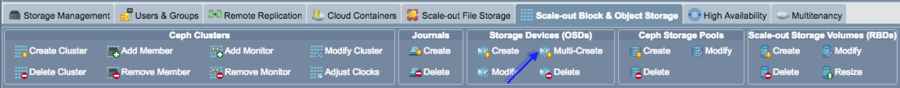 Qs-ui-scaleout-ceph-ribbonbar-multi-create.png