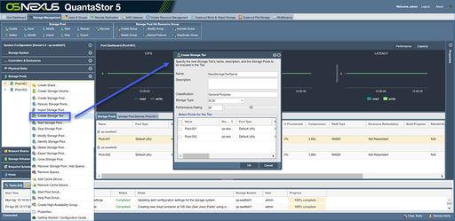 Provisioning Tiers - OSNEXUS Online Documentation Site